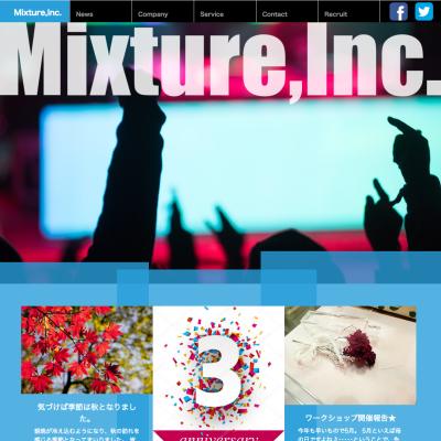 Mixture会社案内サイト